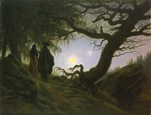 Moon Caspar David Friedrich