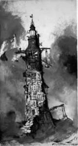 Le phare d'eddystone Victor Hugo