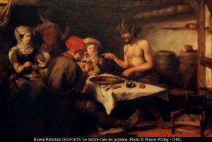 -Le Satyre chez les paysans- Barent Fabritius (1624-1673)