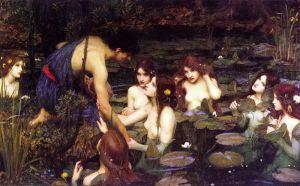 Waterhouse (1896) Hylas et les Nymphes