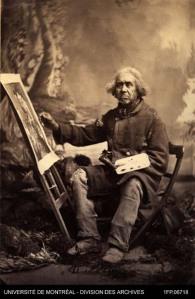 Zacharie Vincent, peintre Huron XIXe siècle