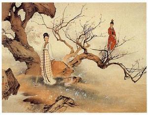Liu Jiyou-Idylle du pavillon rouge