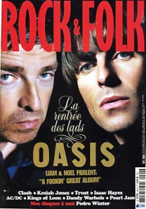 Rock and Folk Oasis Octobre