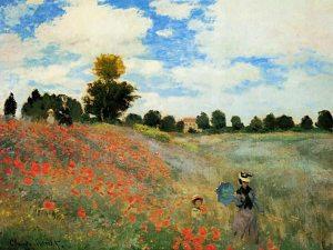 Coquelicots_argenteuil- Monet