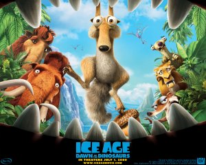 "L'Age de Glace 3 ""Dawn of the Dinosaurs"""