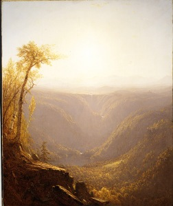 A Gorge in the Mountains (Kauterskill Clove), 1862