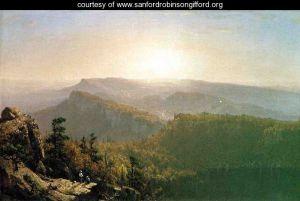 The-Shawangunk-Mountains-Sanford Robinson Gifford