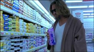 Le Dude soutient le lait...