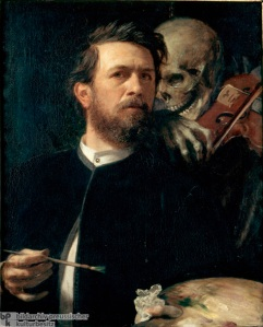 Arnold Böcklin - Autoportrait