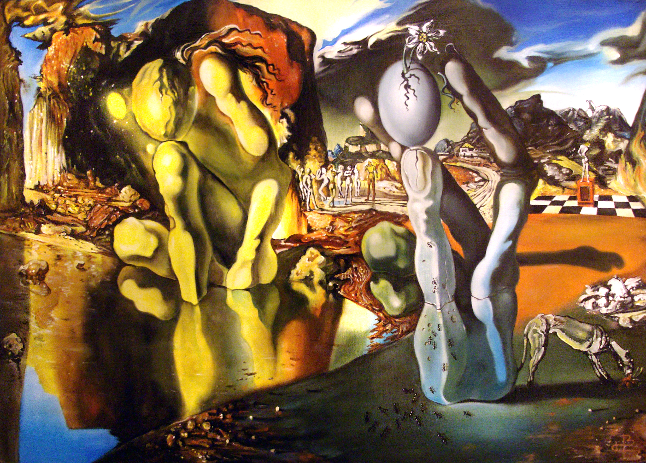 metamorphosis of narcissus salvador dali essay