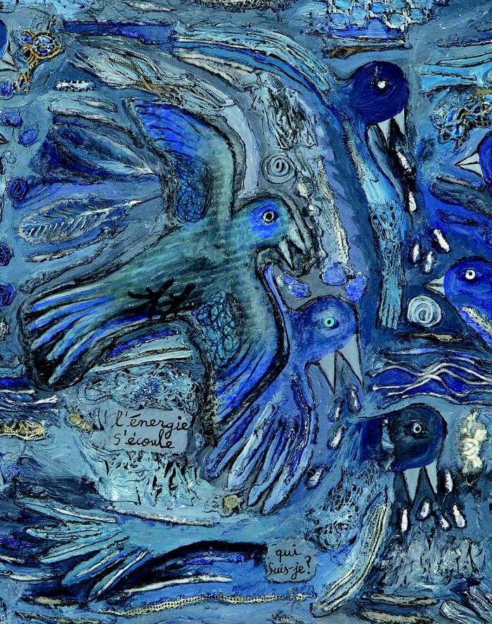 Le reflet des oiseaux dans l'eau