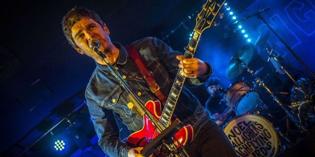 Noel Gallagher's High Flying Birds in concert, The Dome, London, Britain - 02 Feb 2015