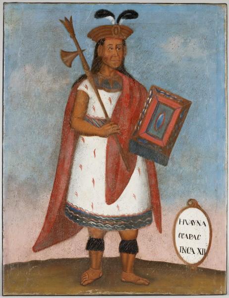Portrait de Huayna Capac, Inca XII