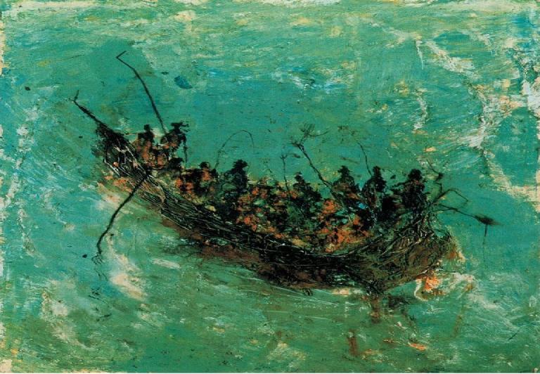 Miquel Barcelo-bateau.png