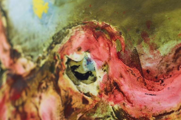 Pop vert, 2014 de Miquel Barcelo 2