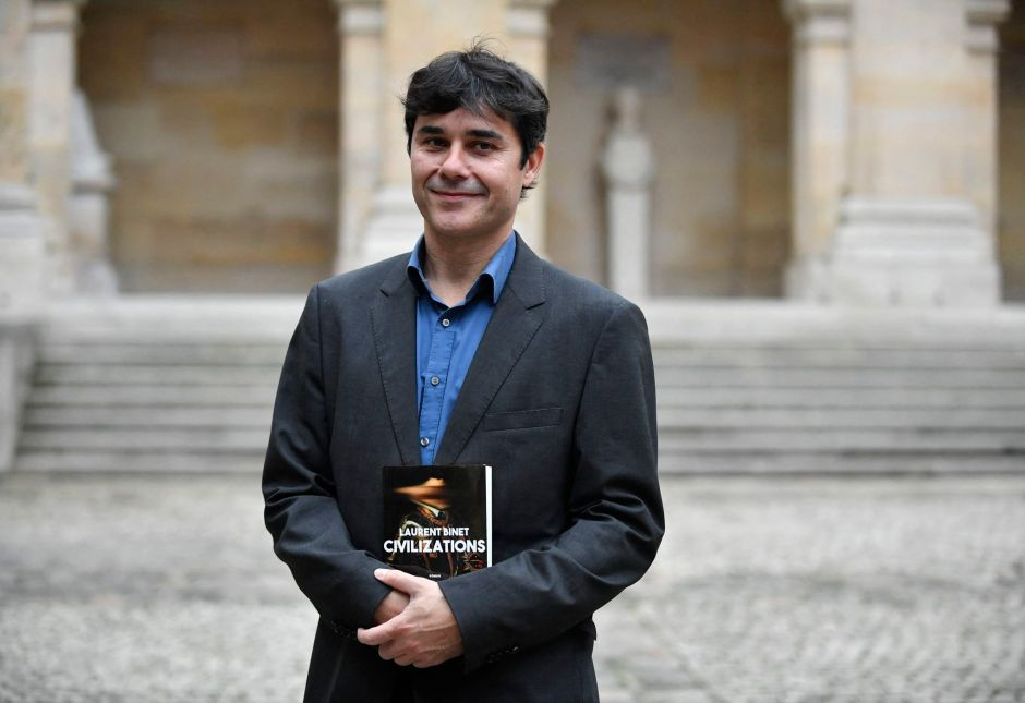 Laurent Binet receives French Academy Literary Prize 2019